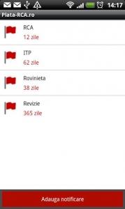 Aplicatie mobila plata-rca.ro screenshot2